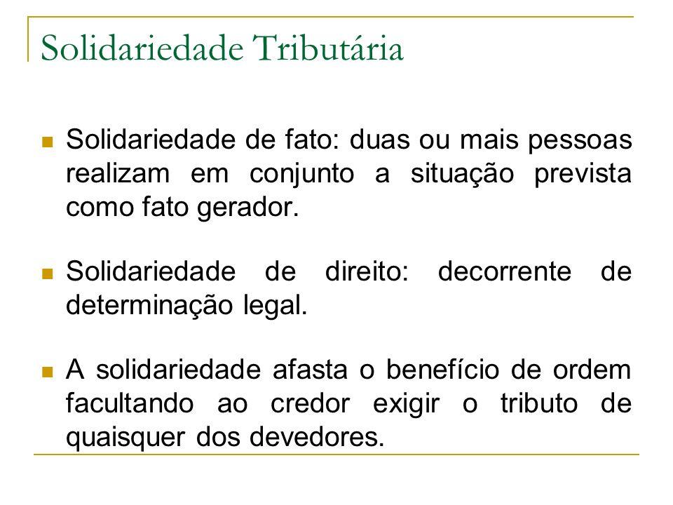 Solidariedade Tributária