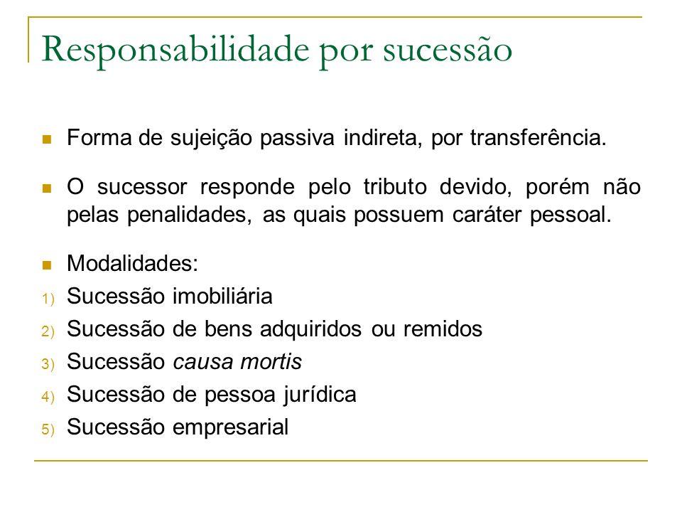 Responsabilidade por sucessão