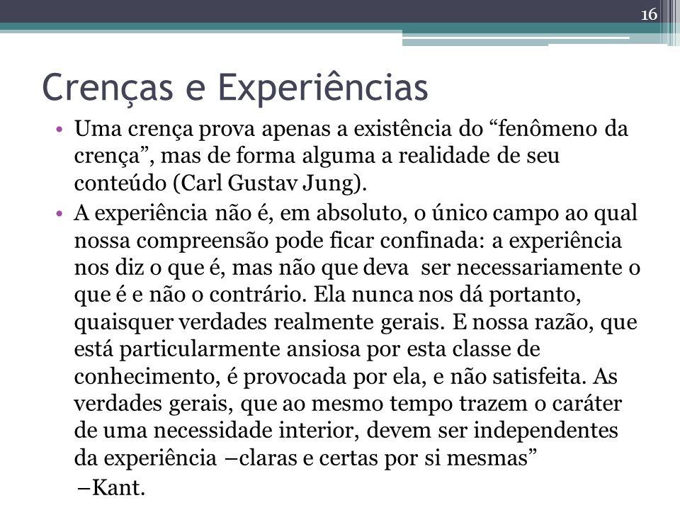 Crenças e Experiências
