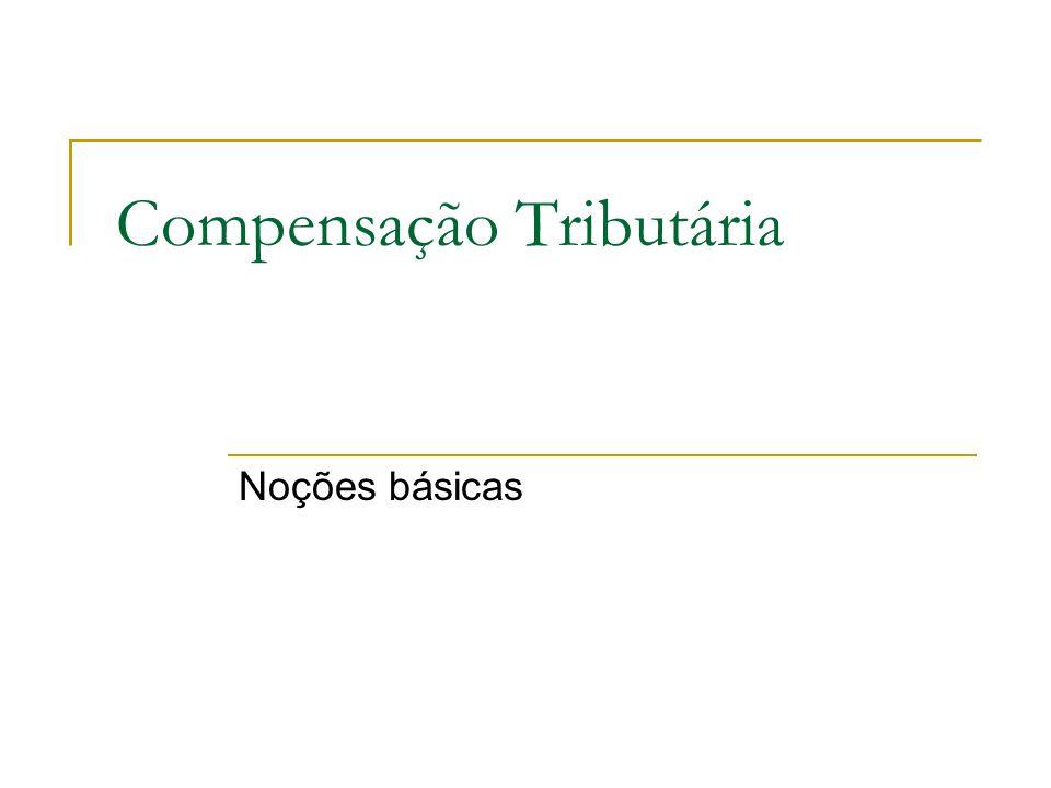 Compensação Tributária
