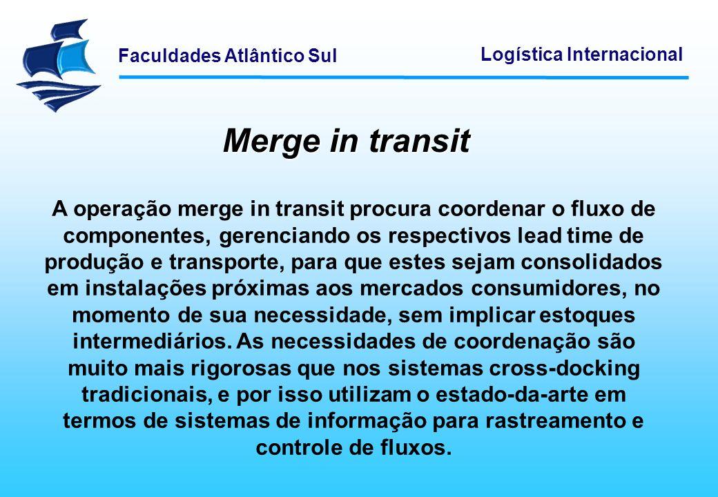 Merge in transit