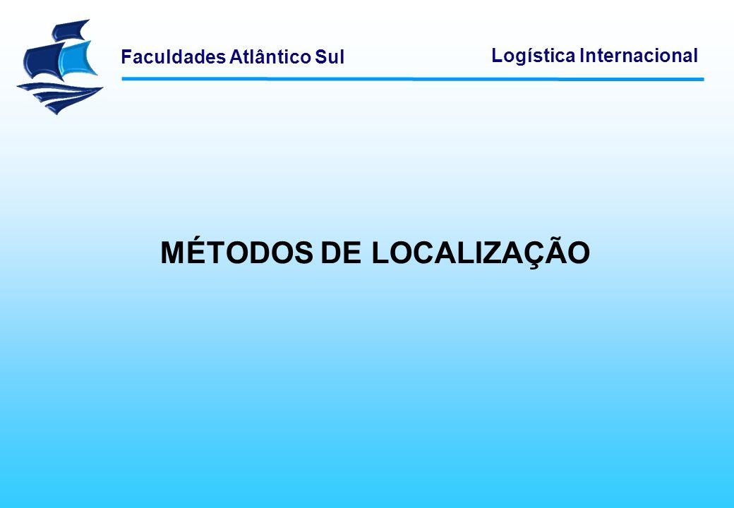 MÉTODOS DE LOCALIZAÇÃO