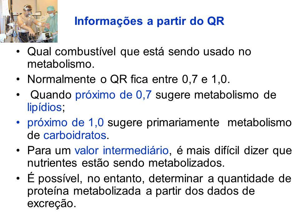 Informações a partir do QR