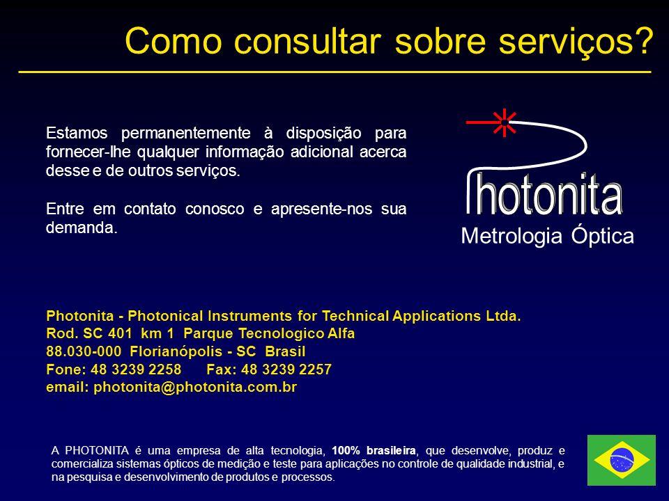 Como consultar sobre serviços