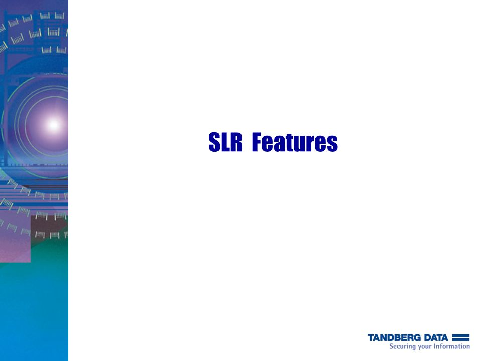 SLR Features