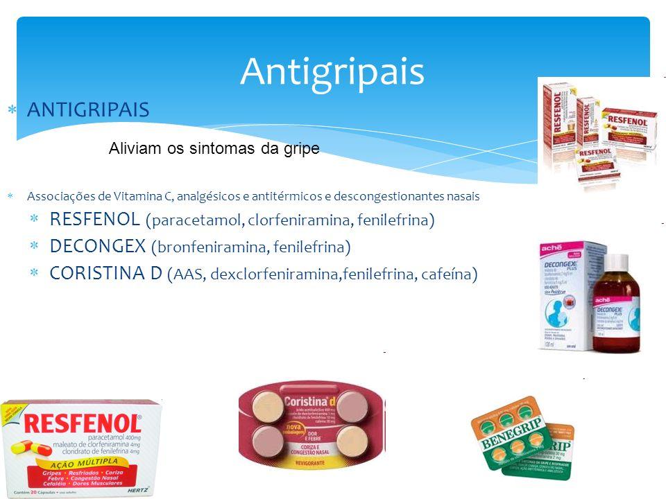 Antigripais ANTIGRIPAIS