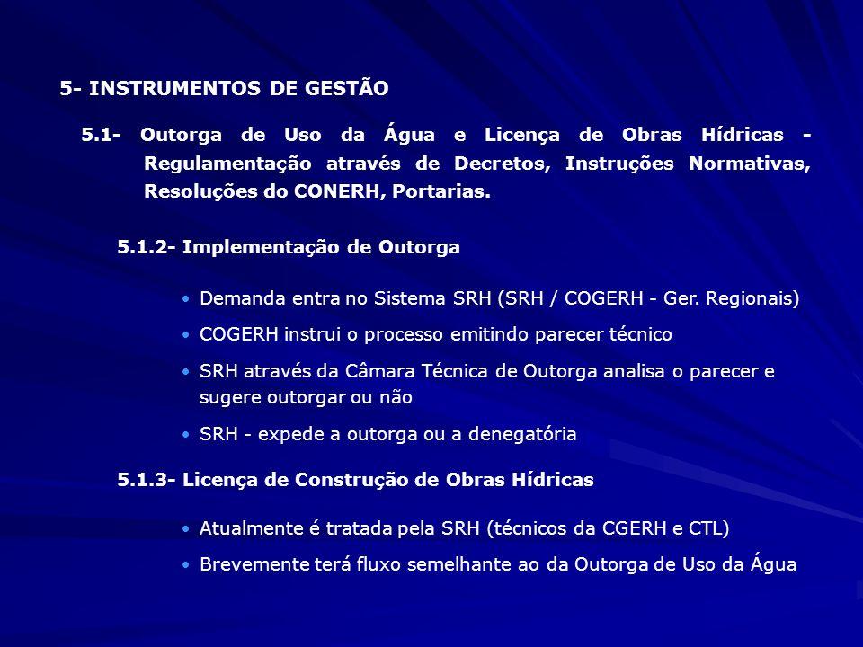 5- INSTRUMENTOS DE GESTÃO