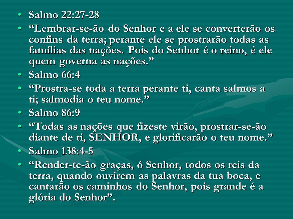 Salmo 22:27-28