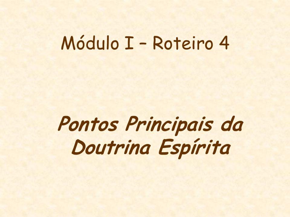Pontos Principais da Doutrina Espírita