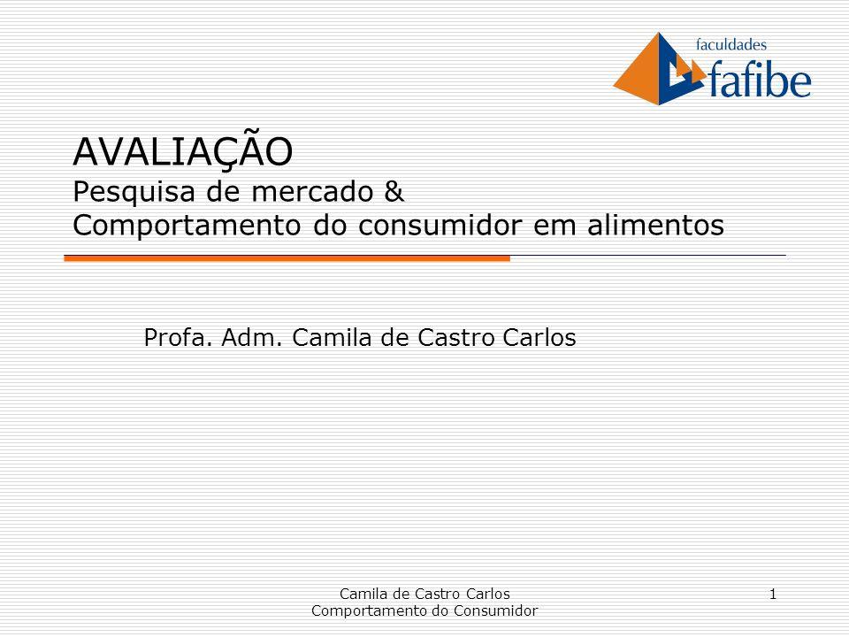 Profa. Adm. Camila de Castro Carlos