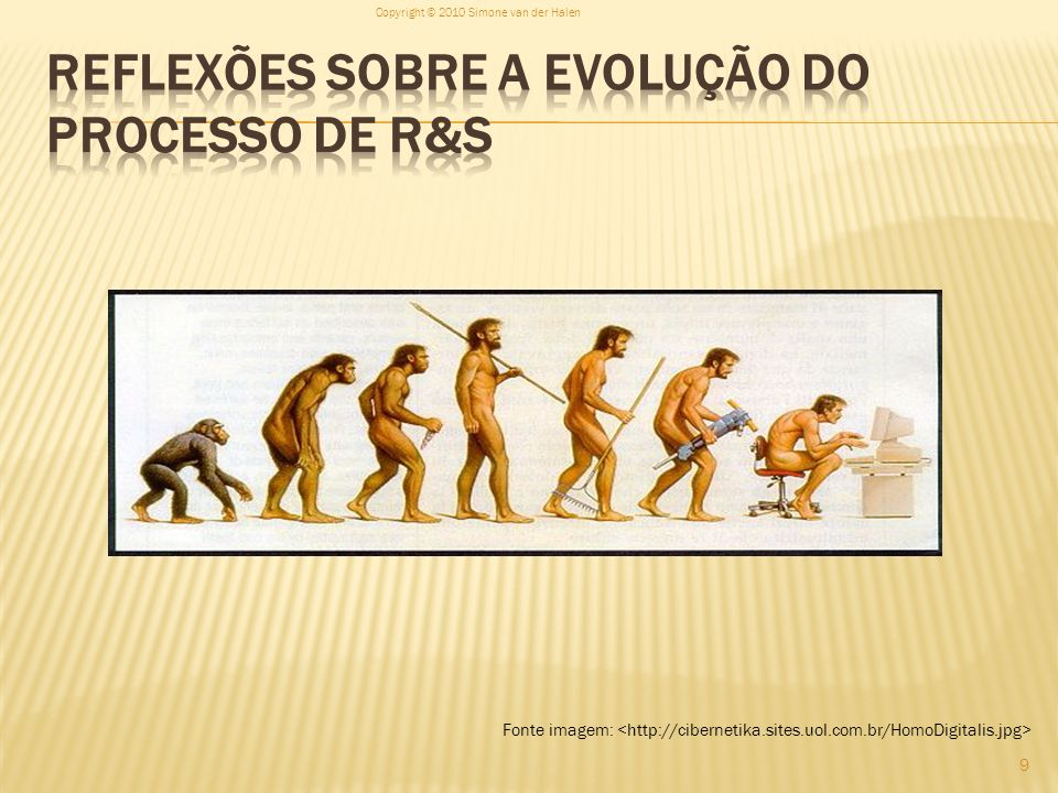 Reflexões sobre a evolução do processo de R&S