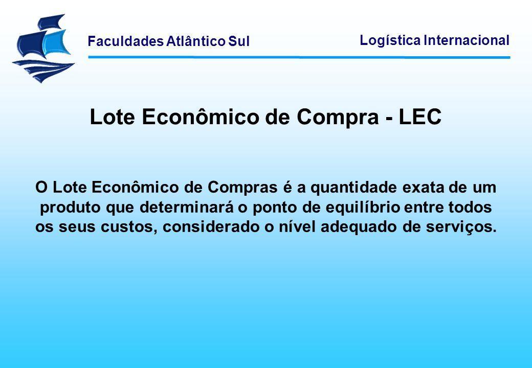 Lote Econômico de Compra - LEC