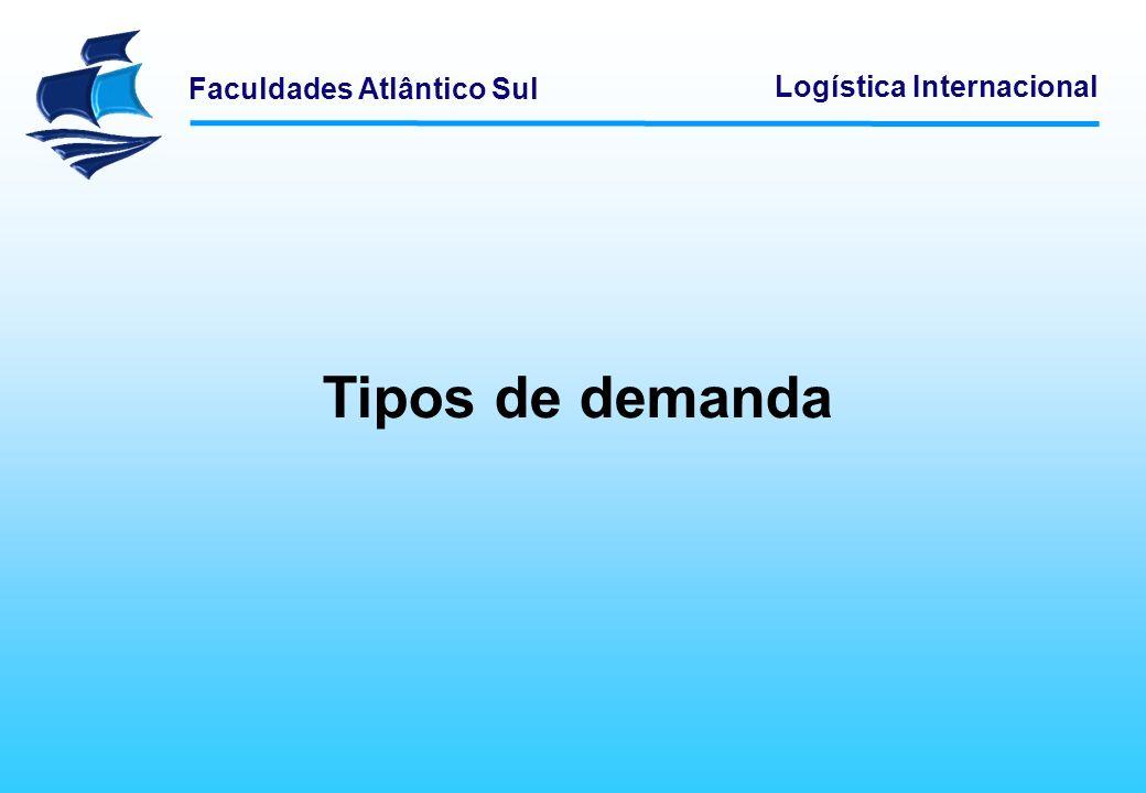 Tipos de demanda Logística Empresarial