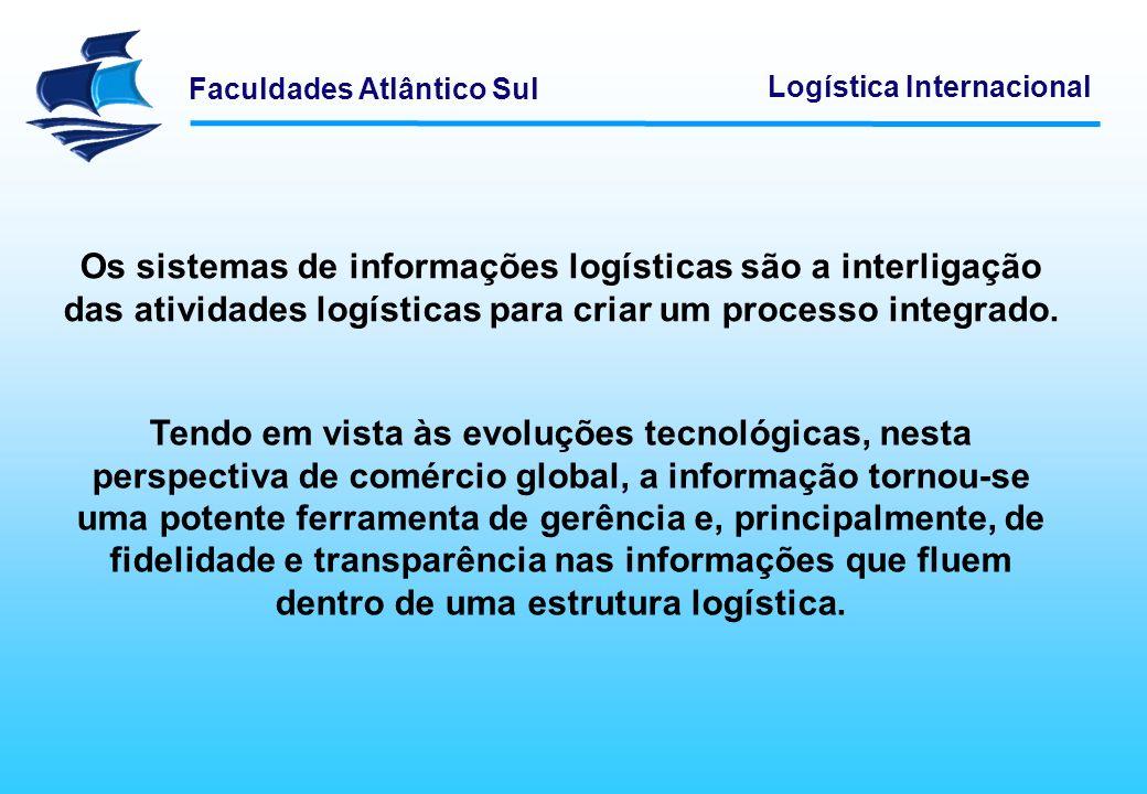 Os sistemas de informações logísticas são a interligação das atividades logísticas para criar um processo integrado.
