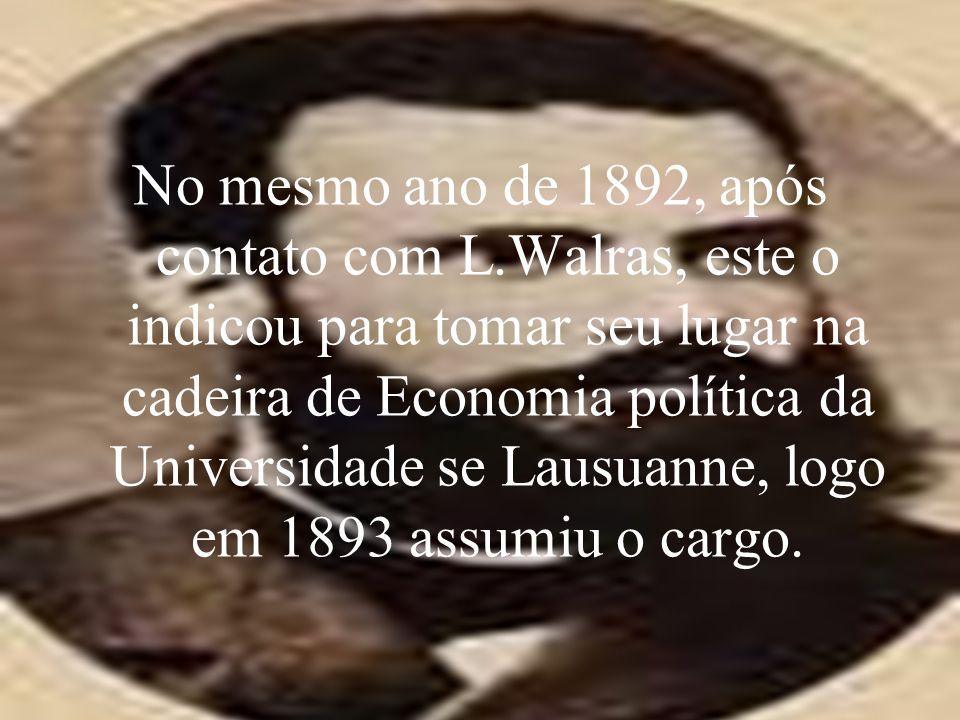 No mesmo ano de 1892, após contato com L