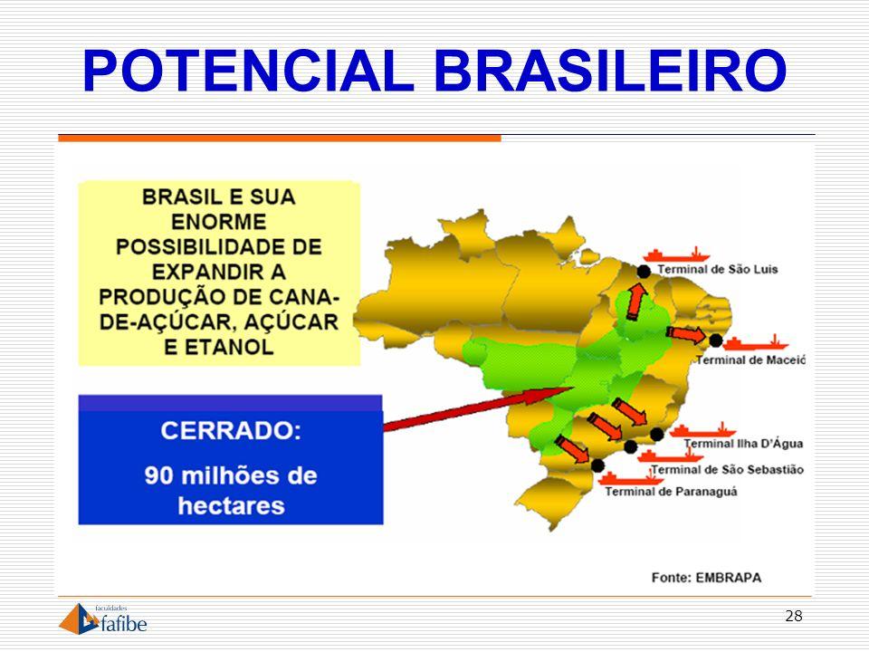 POTENCIAL BRASILEIRO