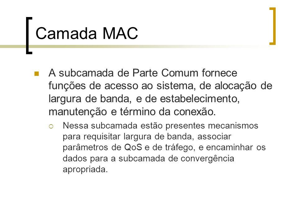 Camada MAC