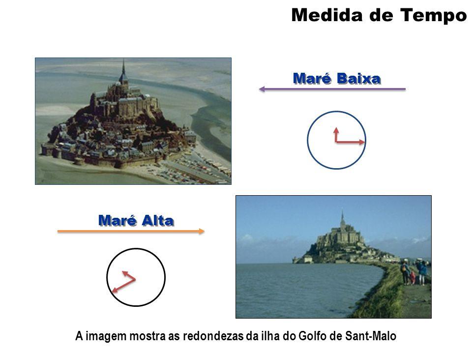 A imagem mostra as redondezas da ilha do Golfo de Sant-Malo