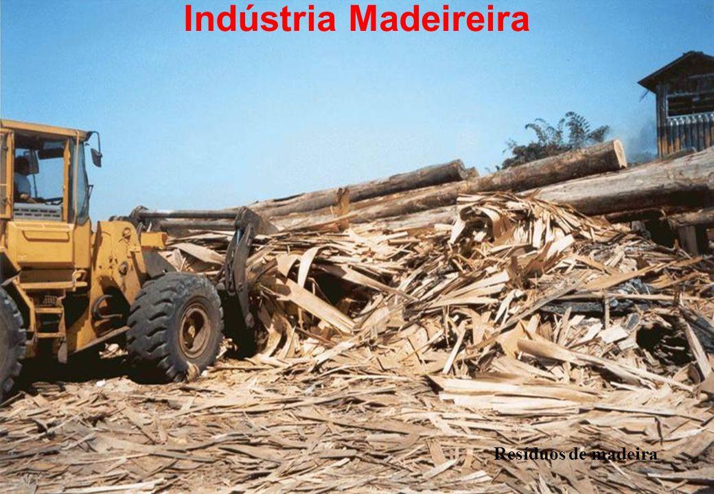 Indústria Madeireira Resíduos de madeira