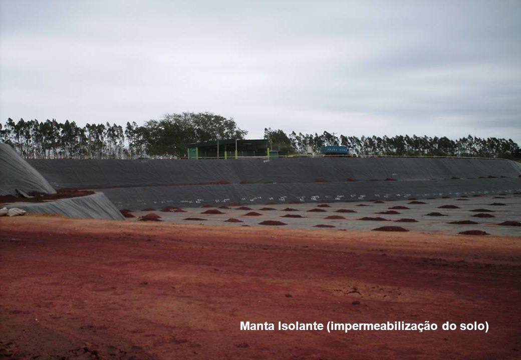 Manta Isolante (impermeabilização do solo)