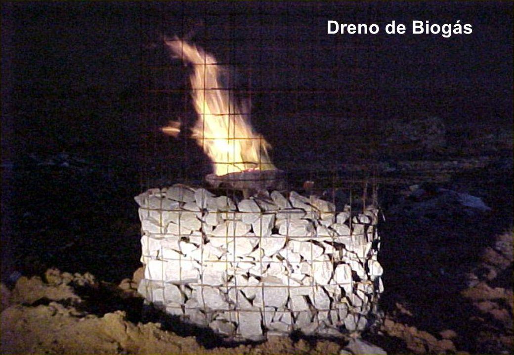 Dreno de Biogás