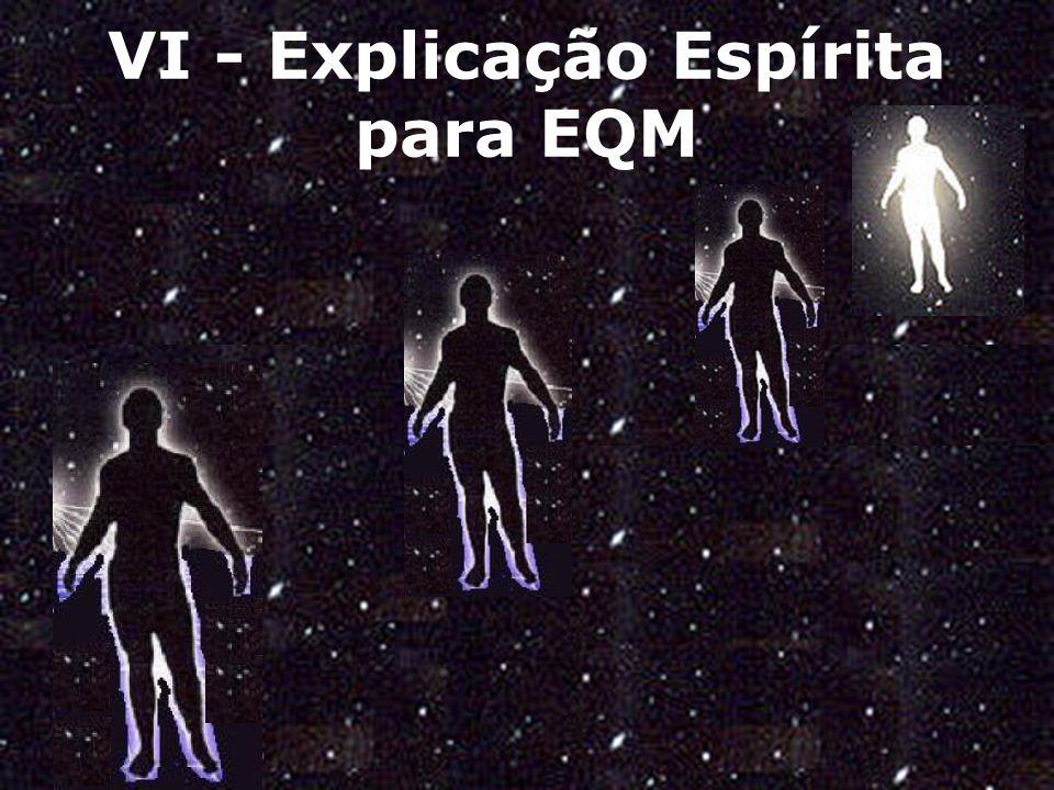 VI - Explicação Espírita para EQM