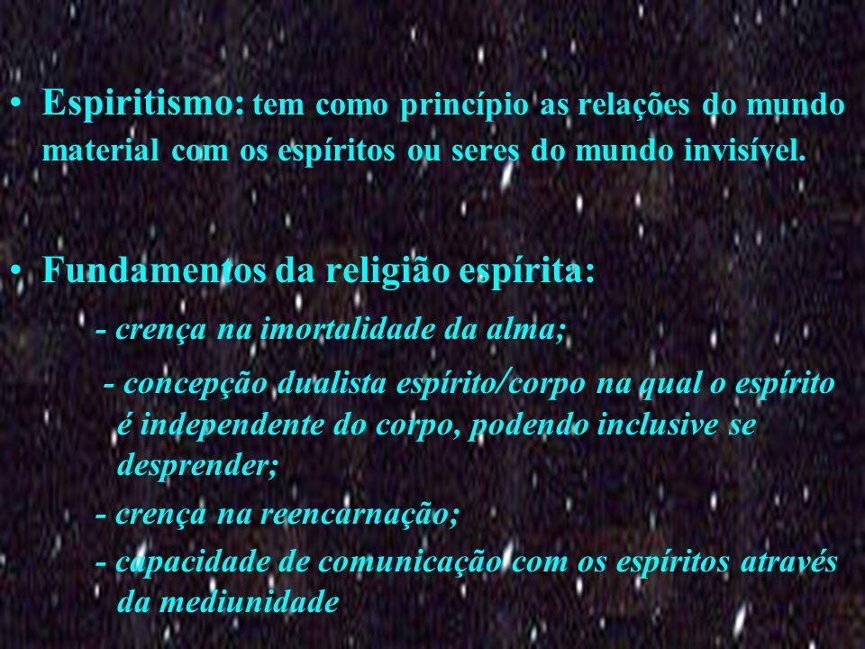 Fundamentos da religião espírita: