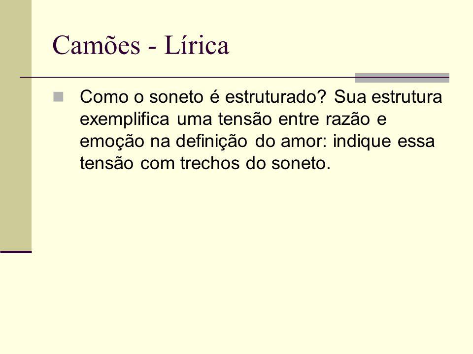 Camões - Lírica