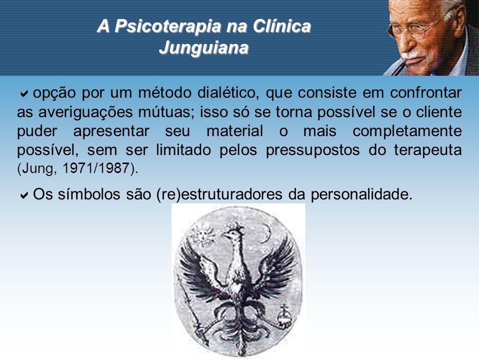 A Psicoterapia na Clínica Junguiana