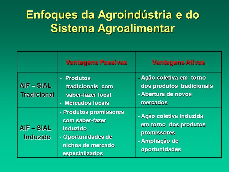 Enfoques da Agroindústria e do Sistema Agroalimentar