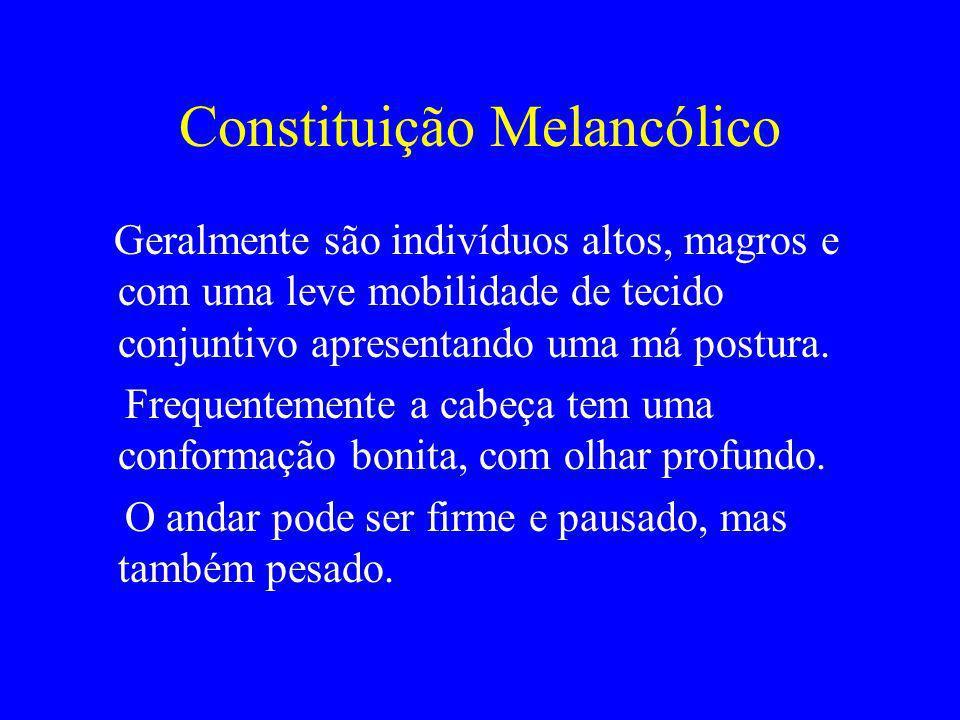 Constituição Melancólico