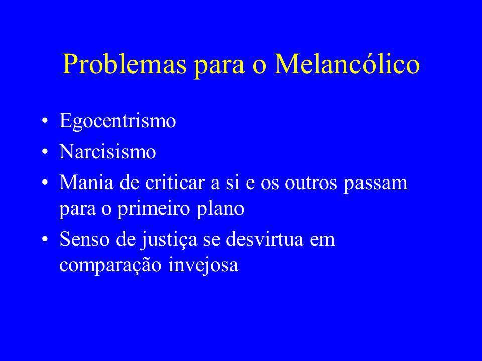 Problemas para o Melancólico