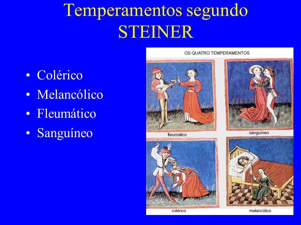 Temperamentos segundo STEINER
