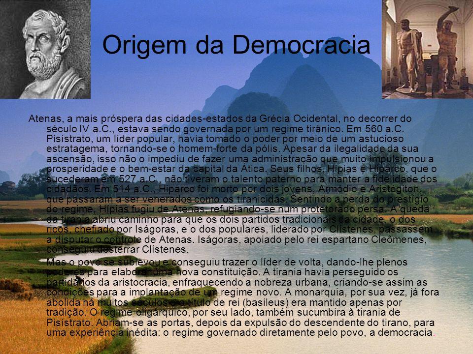 Origem da Democracia