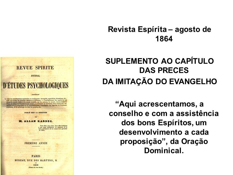 Revista Espírita – agosto de 1864