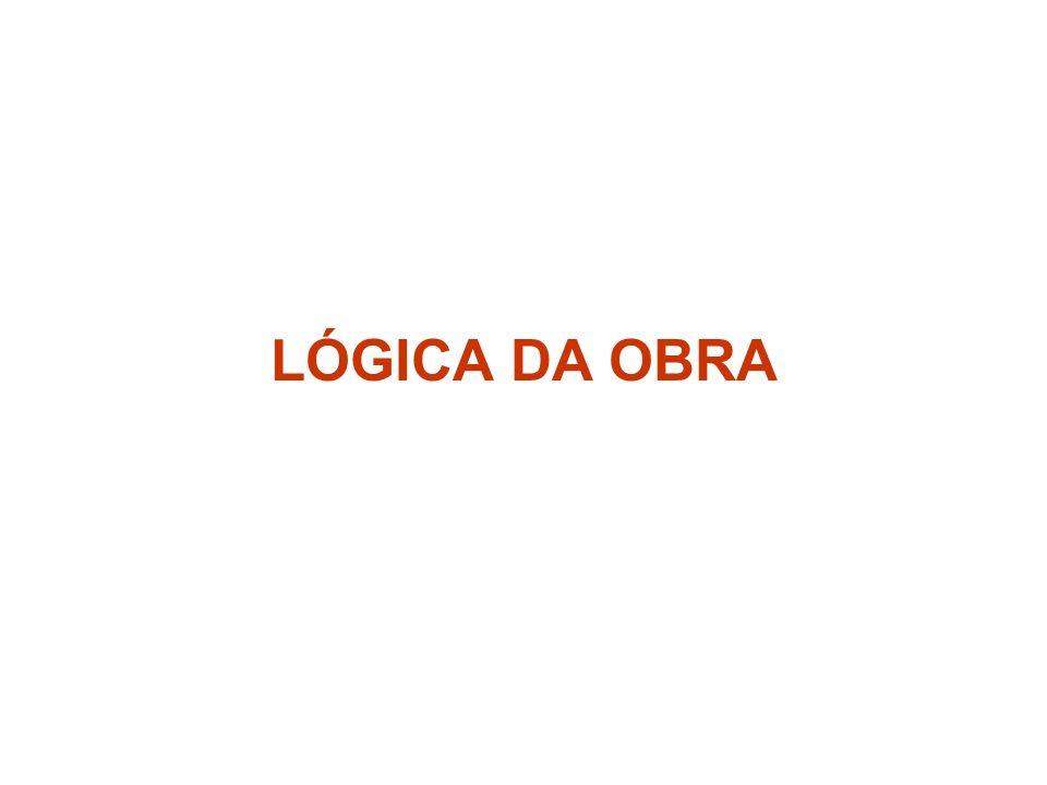 LÓGICA DA OBRA
