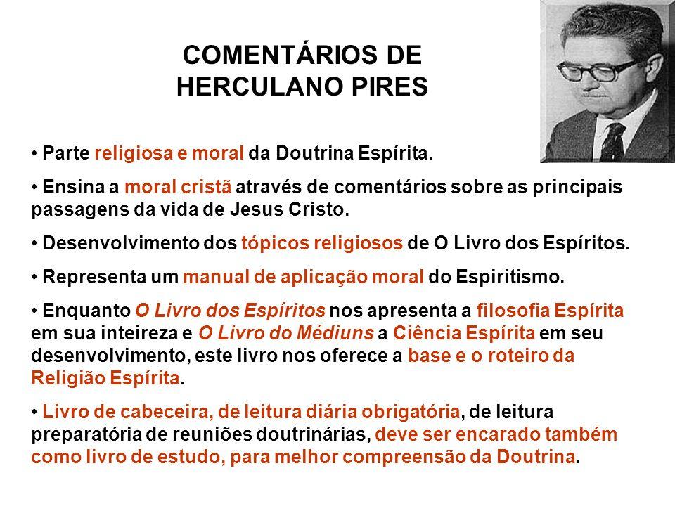 COMENTÁRIOS DE HERCULANO PIRES