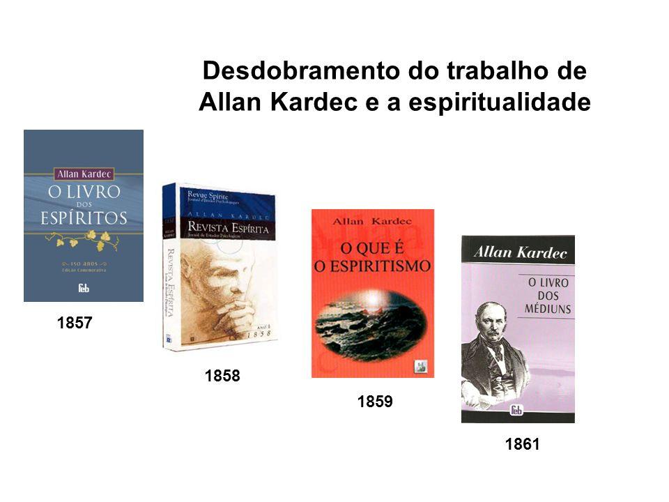 Desdobramento do trabalho de Allan Kardec e a espiritualidade