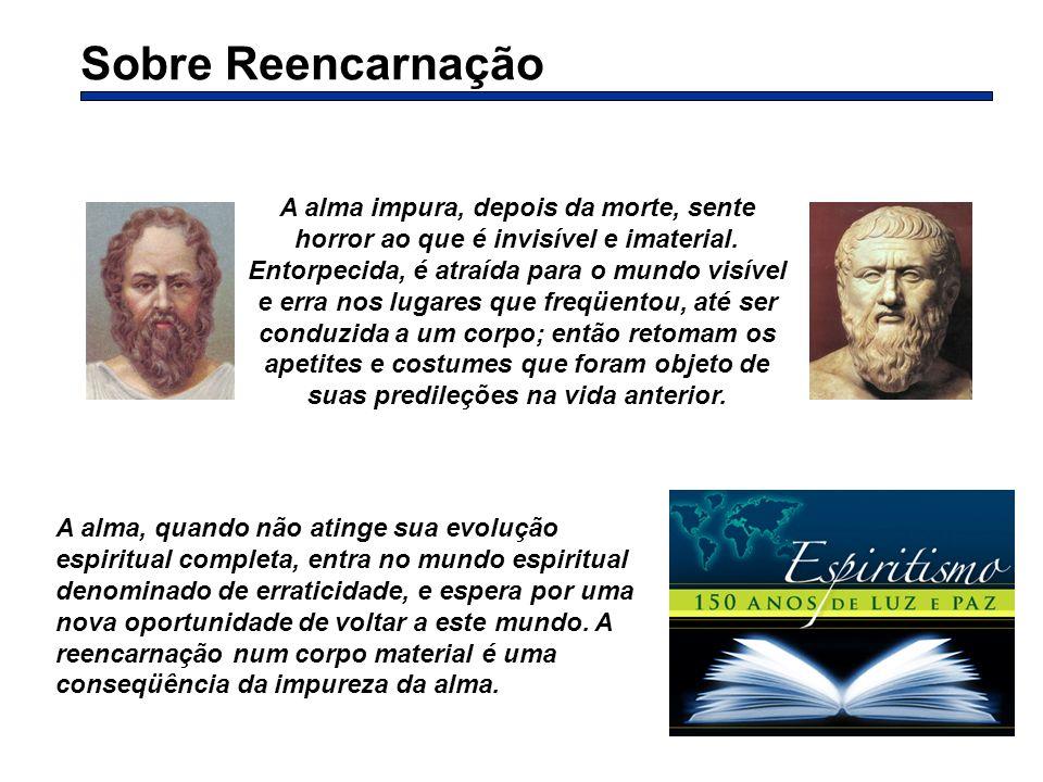 Sobre Reencarnação