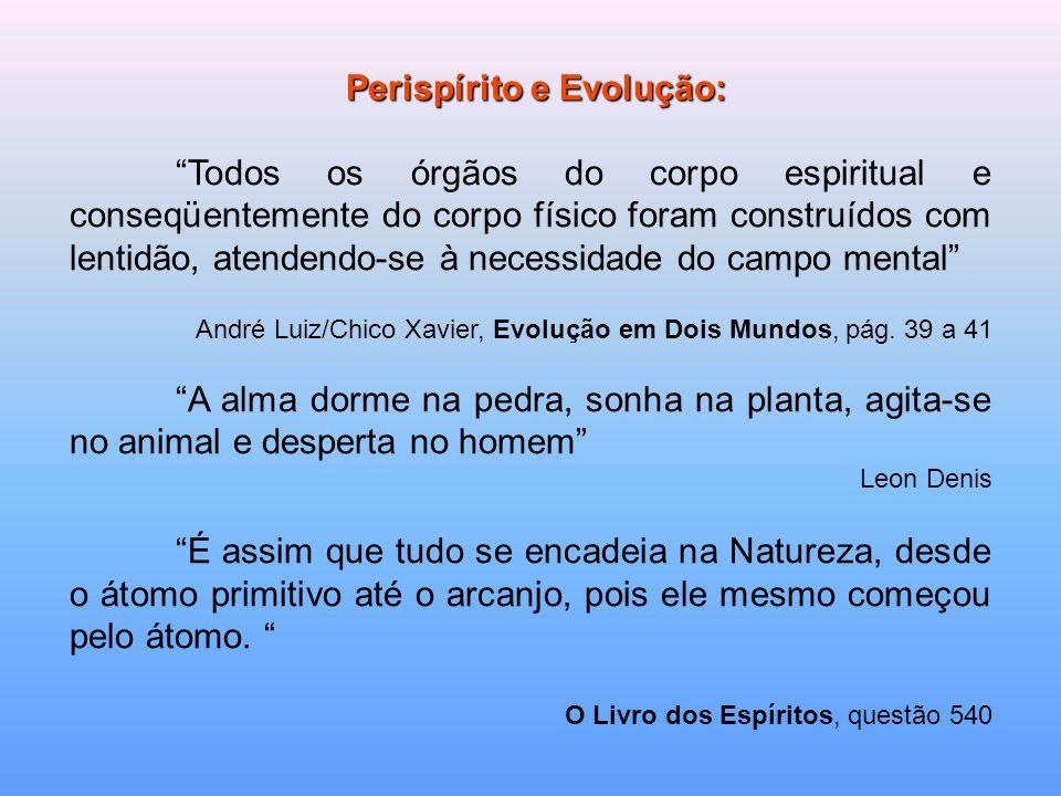 Perispírito e Evolução: