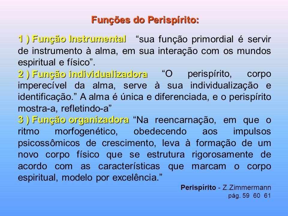 Funções do Perispírito: