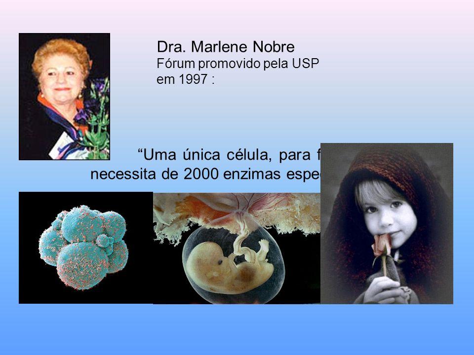 Dra. Marlene Nobre Fórum promovido pela USP.