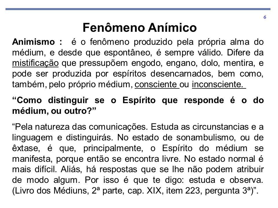 Fenômeno Anímico