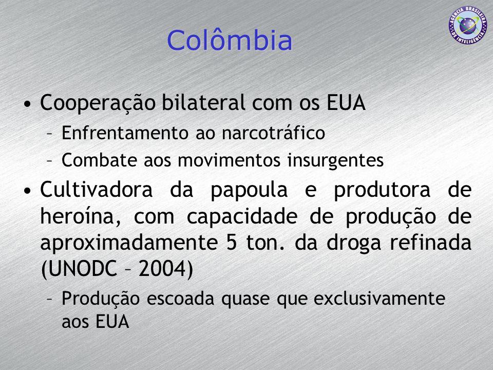 Colômbia Cooperação bilateral com os EUA