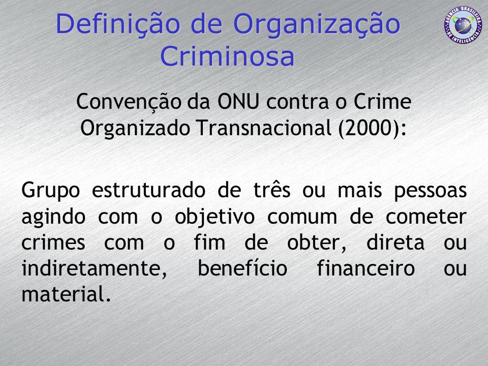 Definição de Organização Criminosa