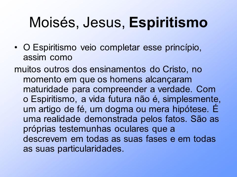 Moisés, Jesus, Espiritismo