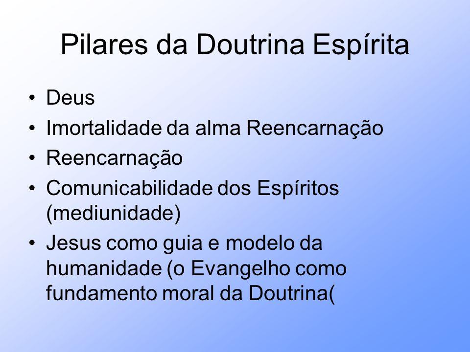 Pilares da Doutrina Espírita