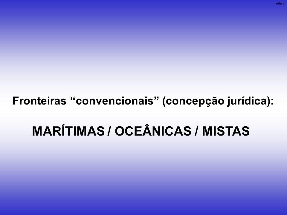 MARÍTIMAS / OCEÂNICAS / MISTAS