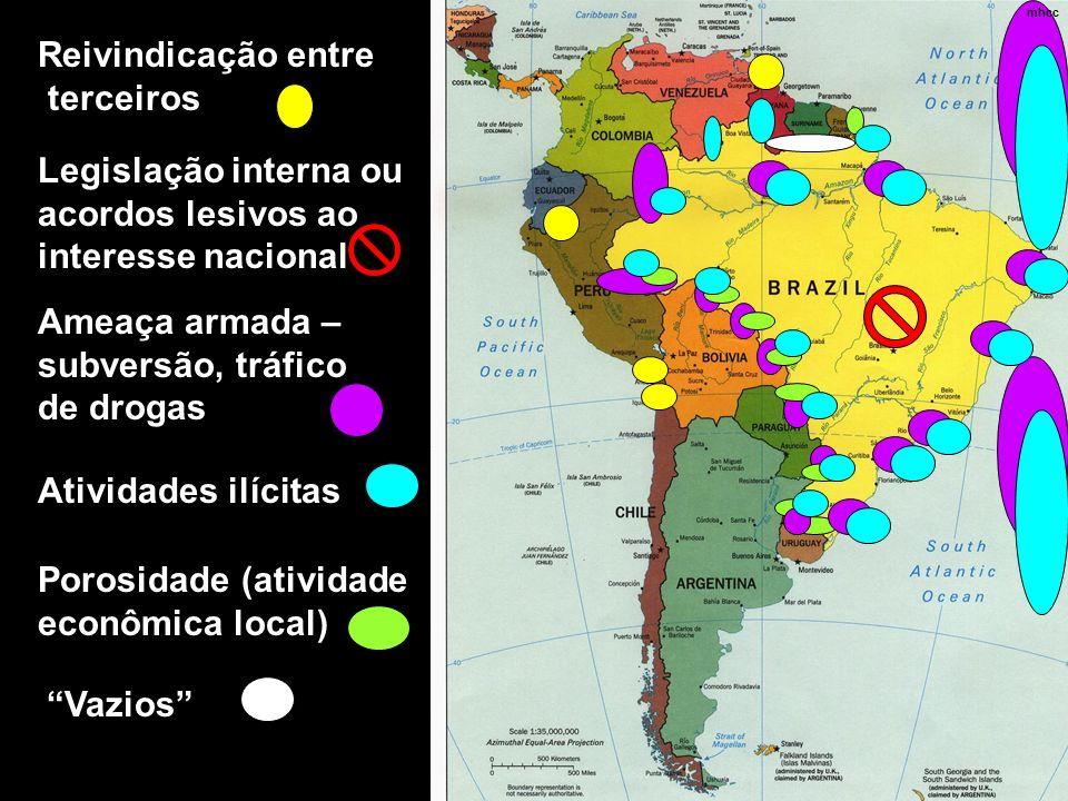 Legislação interna ou acordos lesivos ao interesse nacional
