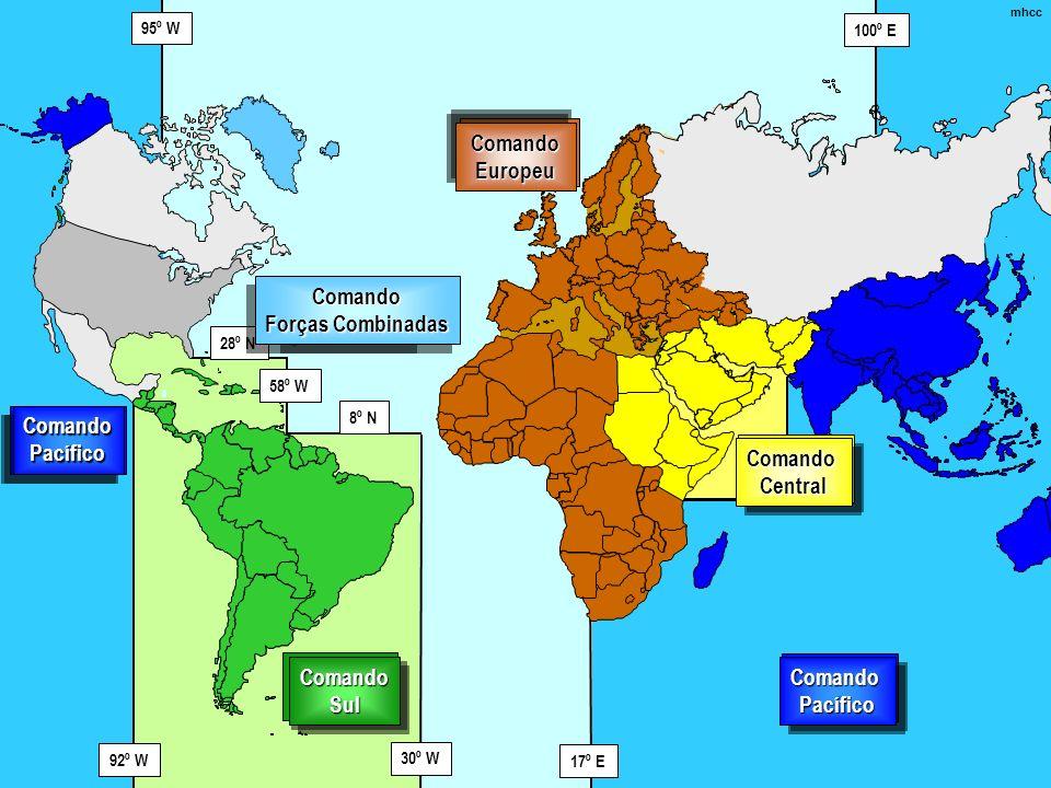 Comando Europeu European Command Comando Forças Combinadas